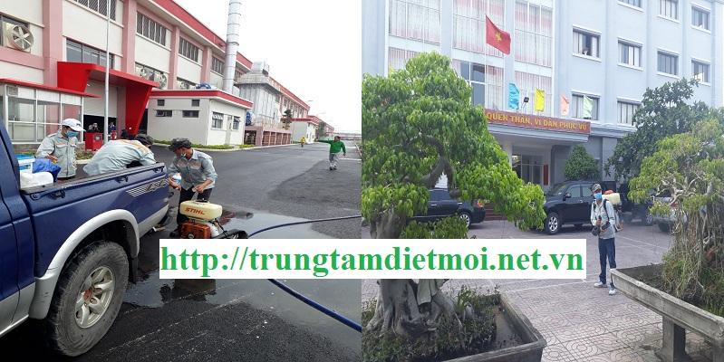 Công ty phun muỗi Bình Phước